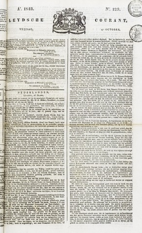 Leydse Courant 1843-10-27