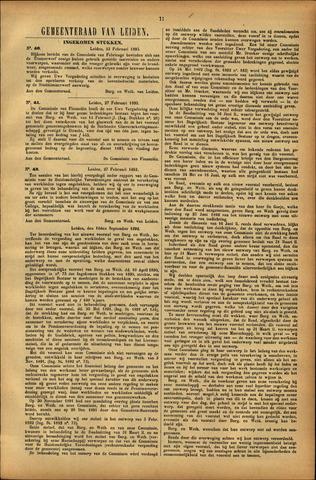 Handelingen van de Raad 1893-02-23