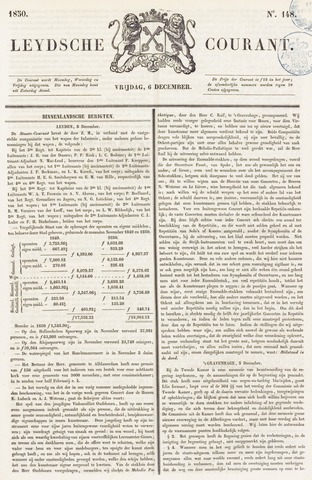 Leydse Courant 1850-12-06