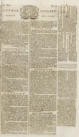 Leydse Courant 1822-03-18