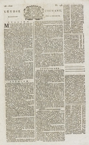 Leydse Courant 1820-12-11