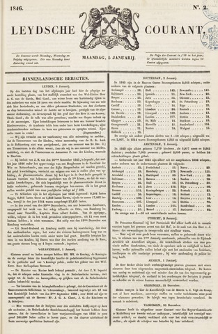 Leydse Courant 1846-01-05