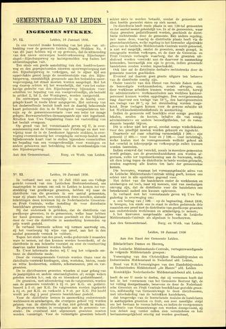 Handelingen van de Raad 1936-01-16