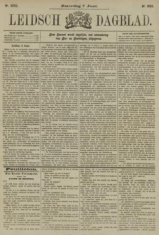 Leidsch Dagblad 1890-06-07