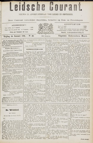Leydse Courant 1890-01-24