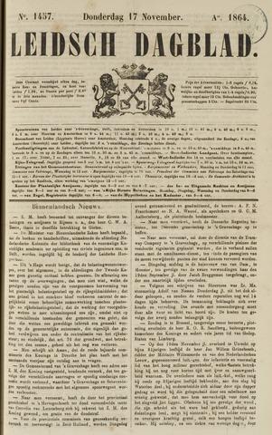 Leidsch Dagblad 1864-11-17