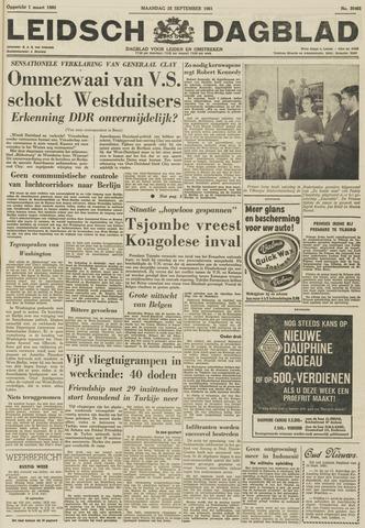 Leidsch Dagblad 1961-09-25