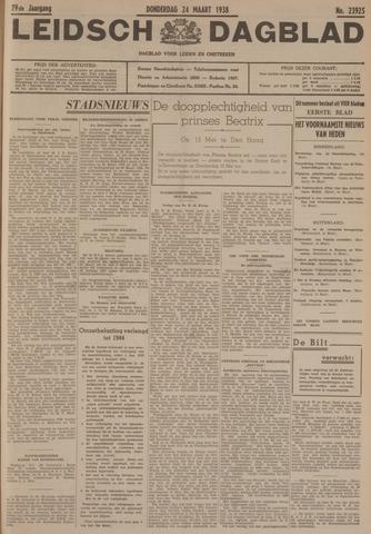 Leidsch Dagblad 1938-03-24