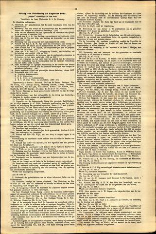 Handelingen van de Raad 1877-08-16