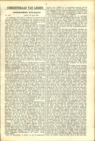 Handelingen van de Raad 1918-04-27