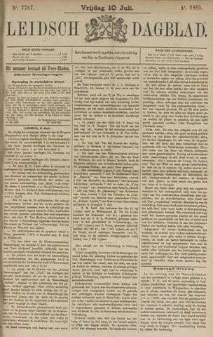 Leidsch Dagblad 1885-07-10