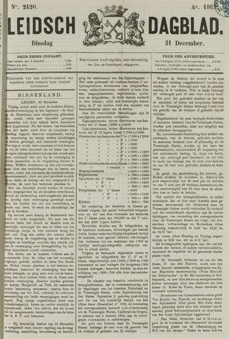 Leidsch Dagblad 1867-12-31