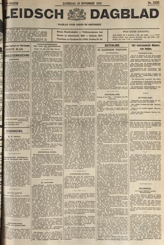 Leidsch Dagblad 1932-11-19