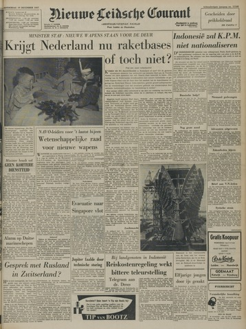Nieuwe Leidsche Courant 1957-12-19