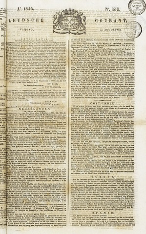 Leydse Courant 1843-08-25