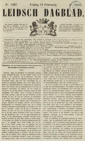 Leidsch Dagblad 1864-02-19