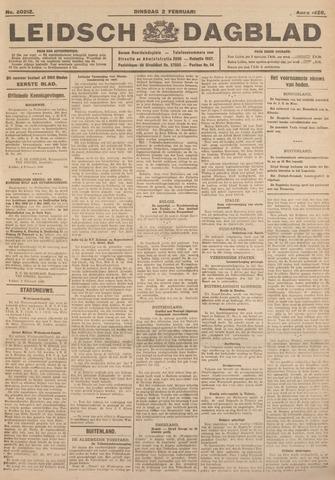 Leidsch Dagblad 1926-02-02