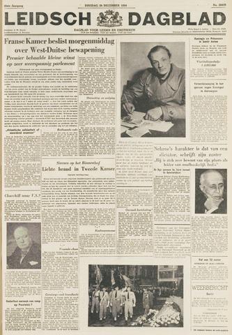 Leidsch Dagblad 1954-12-28