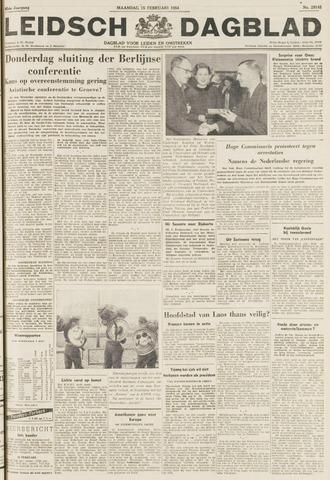 Leidsch Dagblad 1954-02-15