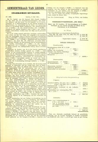 Handelingen van de Raad 1925-07-09