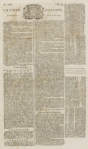 Leydse Courant 1820-03-15