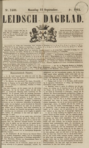 Leidsch Dagblad 1864-09-12
