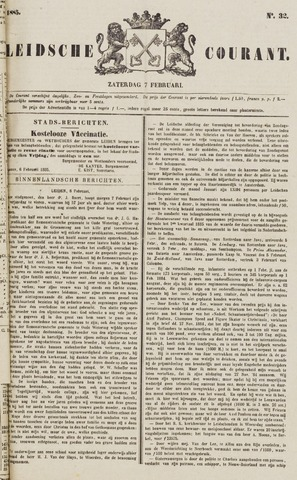 Leydse Courant 1885-02-07