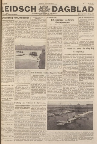 Leidsch Dagblad 1951-03-13