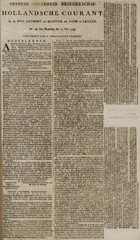 Leydse Courant 1795-05-13