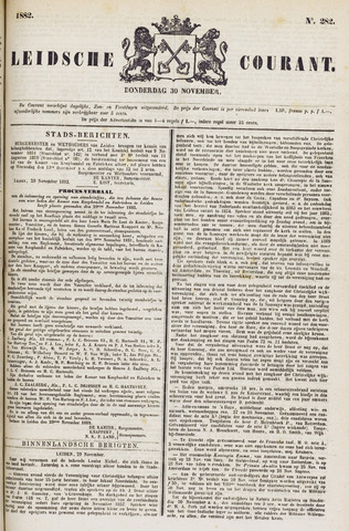 Leydse Courant 1882-11-30