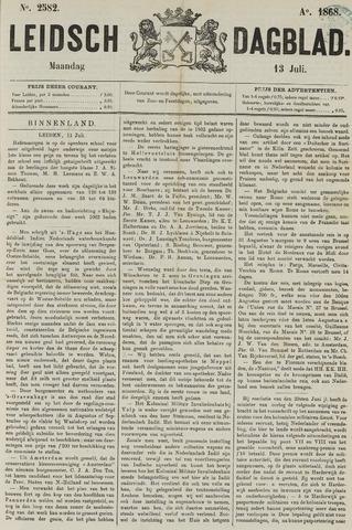 Leidsch Dagblad 1868-07-13