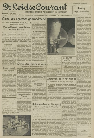 Leidse Courant 1951-01-31