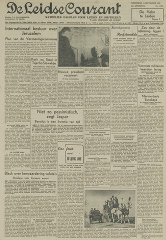 Leidse Courant 1949-09-14