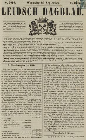 Leidsch Dagblad 1866-09-26