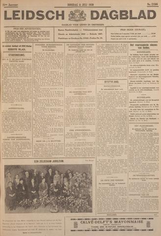 Leidsch Dagblad 1930-07-08