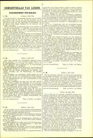 Handelingen van de Raad 1934-05-04