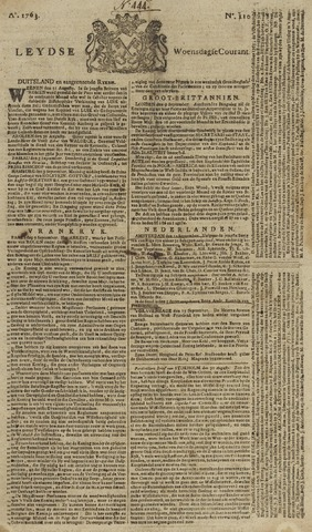 Leydse Courant 1763-09-14