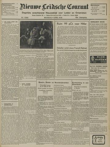 Nieuwe Leidsche Courant 1938-04-11