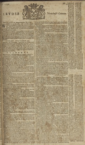 Leydse Courant 1757-01-10