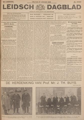 Leidsch Dagblad 1928-01-27