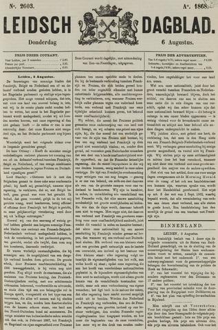 Leidsch Dagblad 1868-08-06