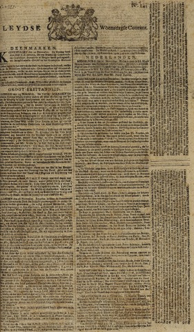 Leydse Courant 1777-12-03