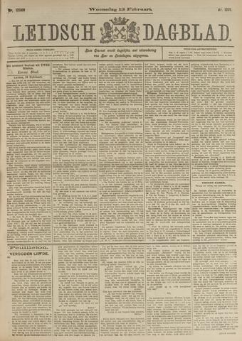 Leidsch Dagblad 1901-02-13