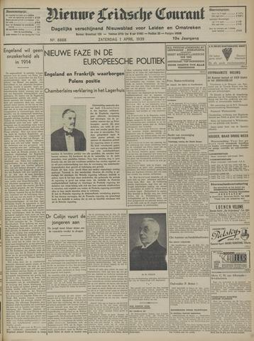 Nieuwe Leidsche Courant 1939-04-01