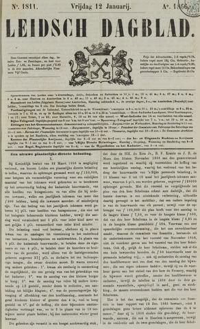 Leidsch Dagblad 1866-01-12