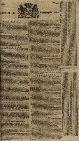 Leydse Courant 1777-10-29