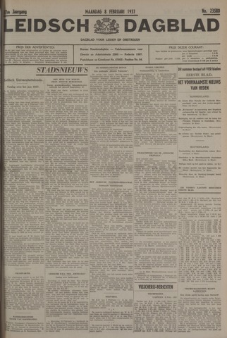 Leidsch Dagblad 1937-02-08