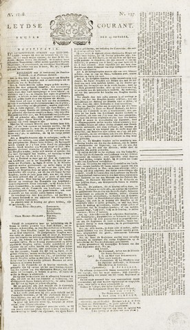 Leydse Courant 1818-10-23