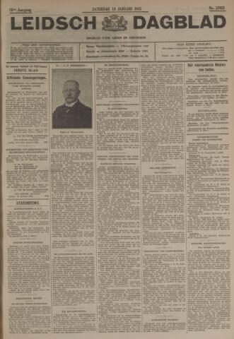 Leidsch Dagblad 1935-01-19