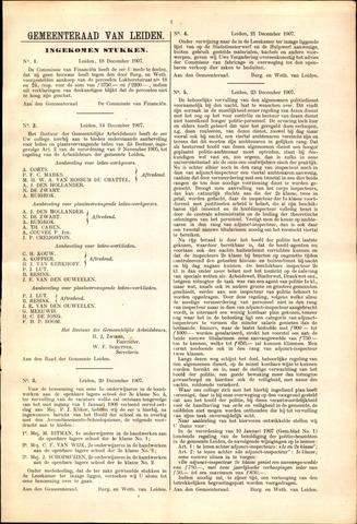 Handelingen van de Raad 1907-12-18
